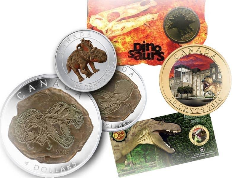 恐竜の硬貨・コイン