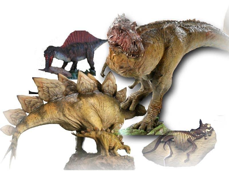 恐竜のフィギュア